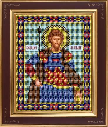 Вышивка бисером Galla Collection М278 Великомученник Феодор Стратилат 12х15 см