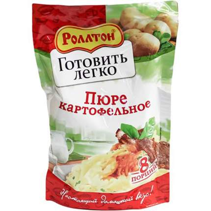 Пюре Роллтон картофельное сухое 240 г