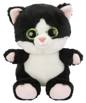 Мягкая игрушка животные Fluffy Family Крошка Котенок черный 15 см 681507