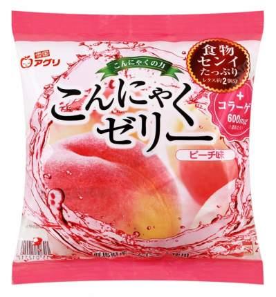Десерт конняку Yukiguni с соком персика желе порционное 115 г
