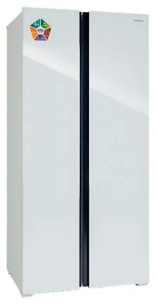 Холодильник Hiberg RFS-480DX NFGW White