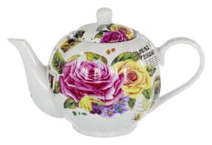 Заварочный чайник Olaff CM-TP-011 Белый, розовый