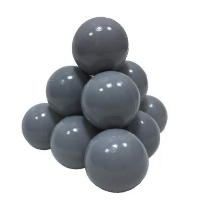 Шарики в наборе для игрового бассейна 50 шт, диам 7см, серые
