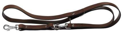 Перестежка для собак Ferplast, кожа, коричневый, длина 2 см