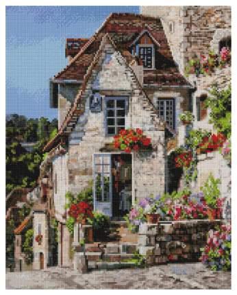 Мозаика Белоснежка на подрамнике Франция, Ракамадур 40*50 см