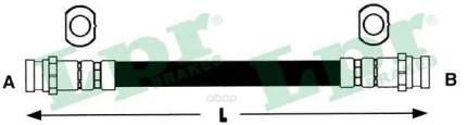 Шланг тормозной Lpr 6T47180