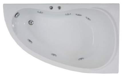 Акриловая ванна BAS Алегра 150х90 c гидромассажем FLAT правая