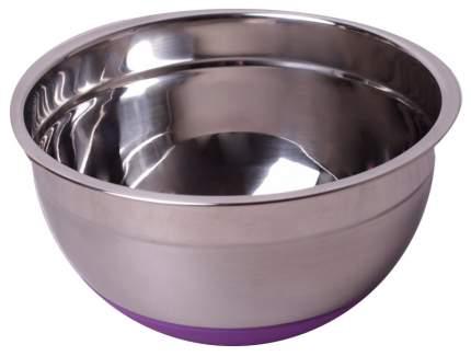 Миска Kamille 4346 Фиолетовый, серебристый