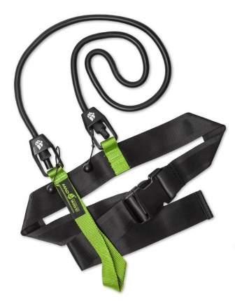 Тормозной пояс для плавания MadWave Short Belt M0771 04 зеленый