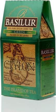 Чай зеленый Basilur Чайный остров цейлон цейлонский байховый листовой 100 г