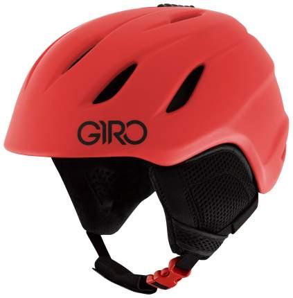 Горнолыжный шлем детский Giro Nine Jr 2019, красный, S