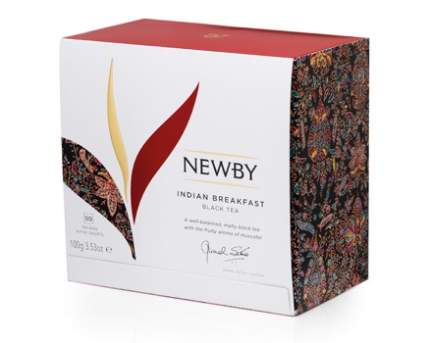 Чай черный Newby индийский завтрак 25 пакетиков