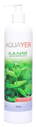 Удобрение для аквариумных растений Aquayer Удо Ермолаева КАЛИЙ+ 250 мл
