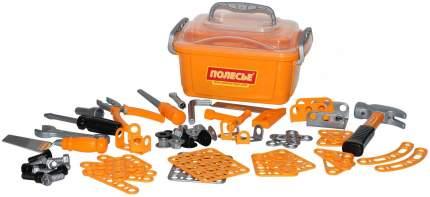 Набор инструментов Полесье №10 166 элементов в контейнере