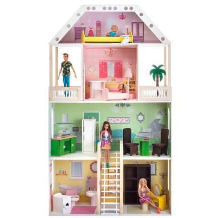 Кукольный домик Paremo поместье шервуд с мебелью
