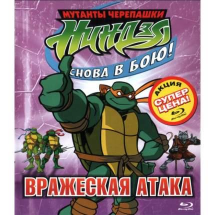 Мутанты Черепашки-Ниндзя: Снова в бою! Вражеская атака (Спец издание) Blu-ray