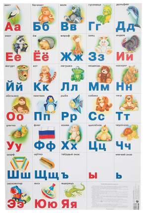 Плакат Айрис-Пресс Разрезная Русская Азбука