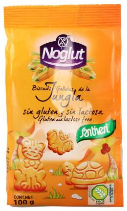 Печенье Santiveri джунгли  без глютена и без лактозы 100 г