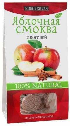 Смоква Живые снеки яблочная с корицей 60 г