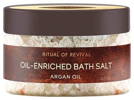 Соль для ванн Zeitun Ritual Of Revival Oil-Enriched Bath Salt - Argan Oil 410 г