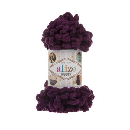 Пряжа для вязания Ализе Puffy (100% микрополиэстер) 5х100гр/9,5м цв,111