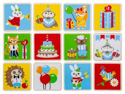 Семейная настольная игра Woody Мемори День рождения совенка