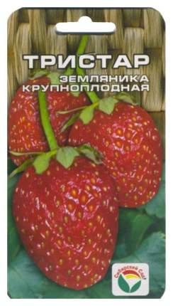 Семена Земляника ремонтантная крупноплодная (клубника) Тристар, 10 шт, Сибирский сад