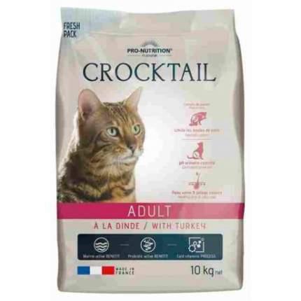 Сухой корм для кошек Flatazor Crocktail Dinde, курица, индейка, 10кг
