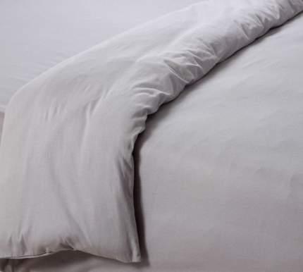 Пододеяльник трикотажный (серый) 2-спальный
