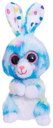 Мягкая игрушка ABtoys Кролик голубой, 15 см