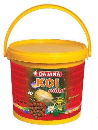 Корм для прудовых рыб Dajana Koi Color, палочки, 5 л