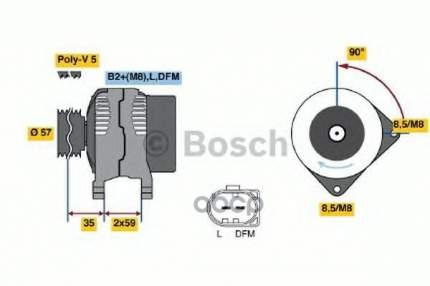 Генератор Bosch 0986049101