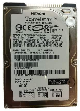 Внутренний жесткий диск HGST Travelstar 60GN 60GB (IC25N060ATMR04-0)