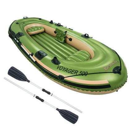 Лодка Bestway Voyager 500 3,48 x 1,41 м green