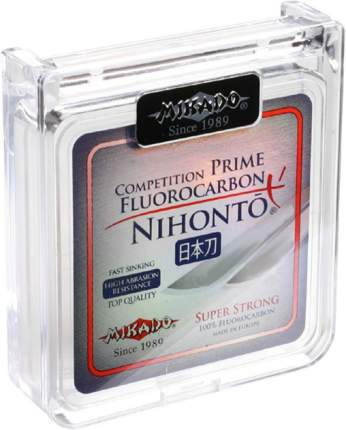 Леска монофильная Mikado Nihonto Fluorocarbon Prime 0,2 мм, 30 м, 2,75 кг