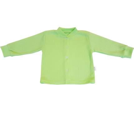 Кофта детская Папитто на кнопках ажур салатовый р.20-62 И61-201
