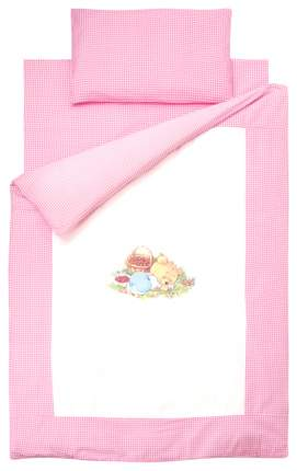 Комплект детского постельного белья Золотой гусь Аленка Розовый
