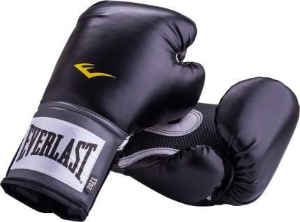 Боксерские перчатки Everlast Pro Style Anti-MB черные 14 унций