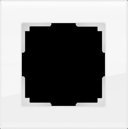 Рамка для выключателя Werkel WL01-Frame-01 a030819 белый