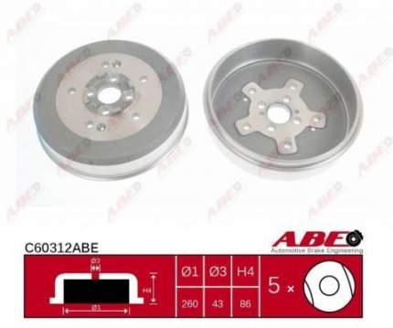 Тормозной барабан ABE C60312ABE