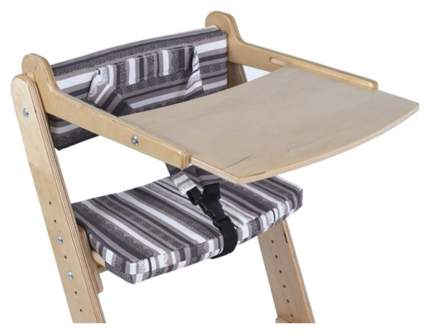 Столик для стула Конек Горбунек с аксессуарами Береза/Полосатик