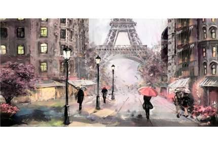 Репродукция 60х120 см Hoff Весенний Париж