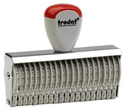 Нумератор ленточный Trodat Classic Line 15320. 20 разрядов. Высота шрифта: 3 мм