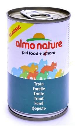 Консервы для кошек Almo Nature Classic форель, 140г