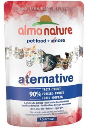 Влажный корм для кошек Almo Nature HFC Alternative 90%, форель, 55г