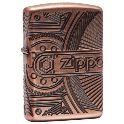 Бензиновая зажигалка Zippo Armor 29523 Antique Copper