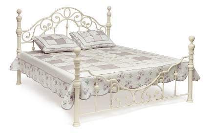Кровать двуспальная TetChair Victoria 160х200 см, белый