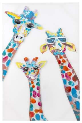 Репродукция 60x90 см Hoff Жирафы