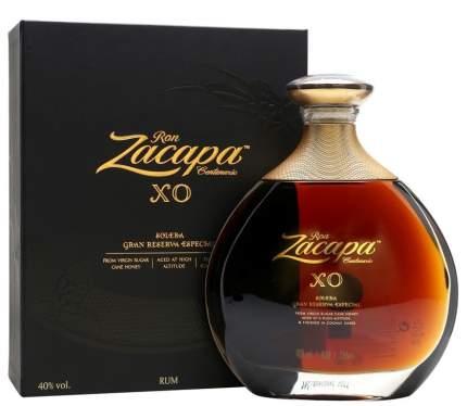 Ром Zacapa Centenario Solera Grand Special Reserve XO gift box 0.7 л