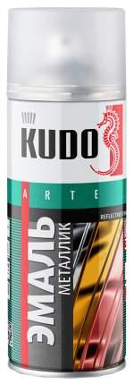 Эмаль Kudo Металлик Универсальная Хром Зеркальный 520 Мл KU-1033